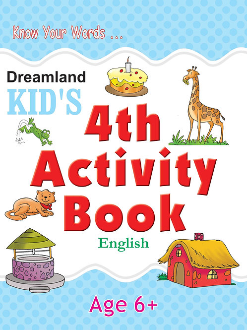 Kid's 4th  Activity Book - English