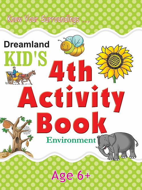 Kid's 4th Activity Book - Environment