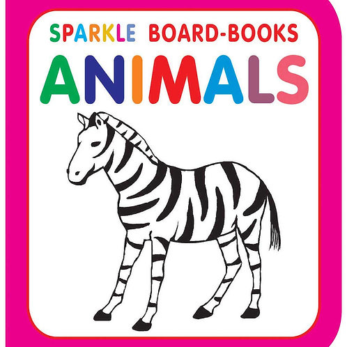 Sparkle Board Book - Animals