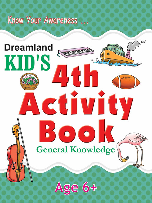Kid's 4th Activity Book - General Knowledge