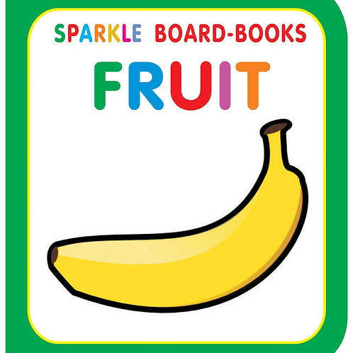 Sparkle Board Book - Fruit
