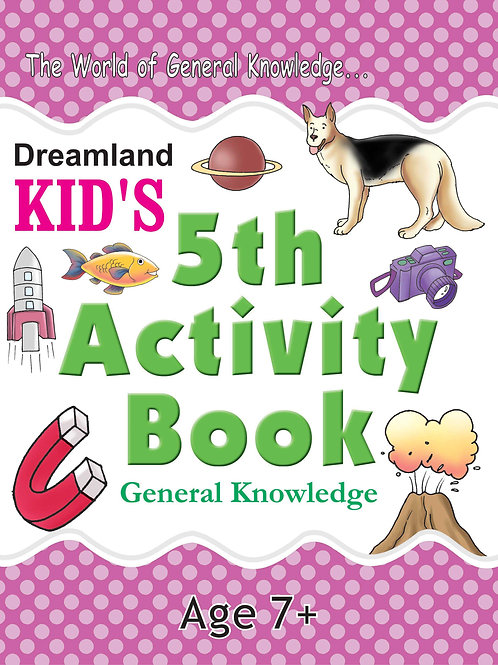 Kid's 5th Activity Book - General Knowledge