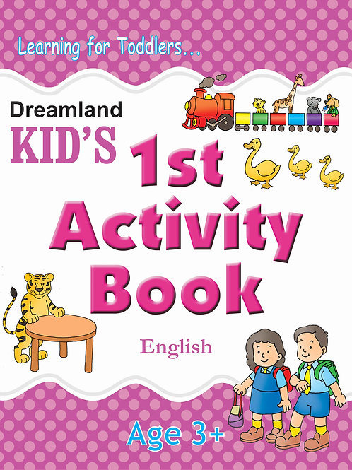 Kid's 1st Activity Book - English