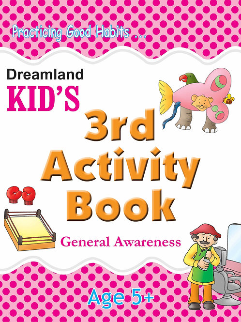 Kid's 3rd Activity Book - General Awareness