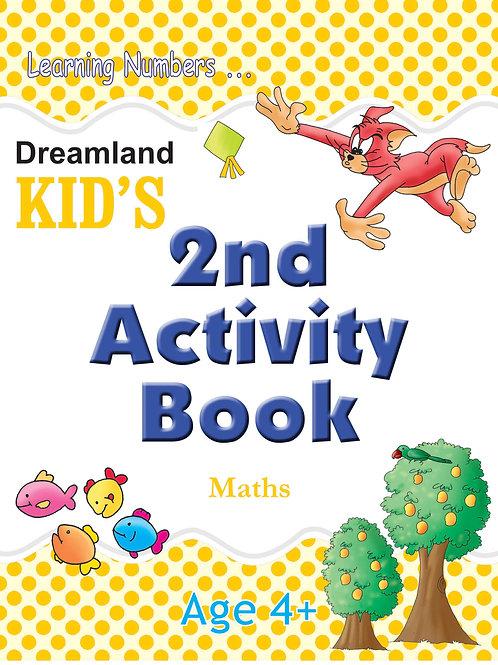 Kid's 2nd Activity Book - Maths