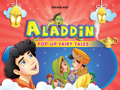 Pop-Up Fairy Tales - Aladdin