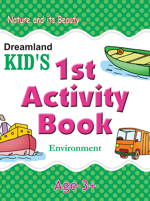 Kid's 1st Activity Book - Environment
