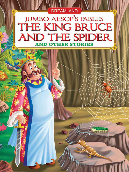 Jumbo Aesop's - The King Bruce and the Spider