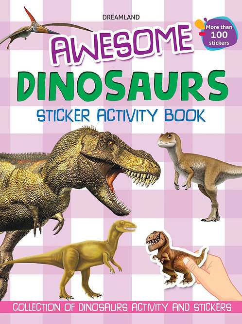 Awesome Dinosaurs (Sticker Activity Book)