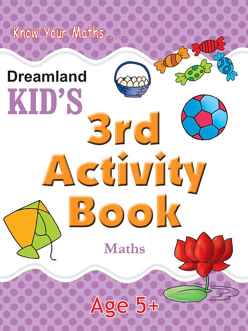 Kid's 3rd Activity Book - Maths