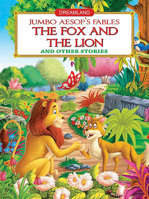 Jumbo Aesop's - The Fox and the Lion