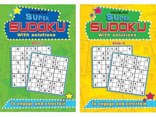 Super Sudoku pack - 2 (2 Titles)