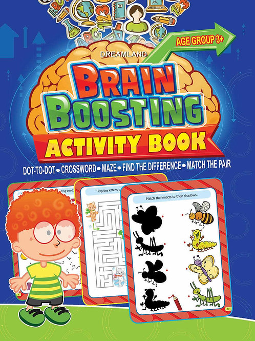 Brain Boosting Activity Book- Age 3+