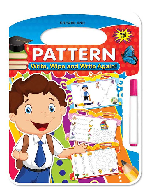 Write and Wipe Book - Pattern