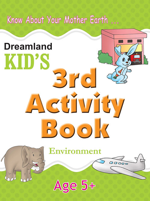 Kid's 3rd Activity Book - Environment
