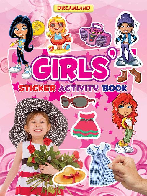 Sticker Activity Book - Girls