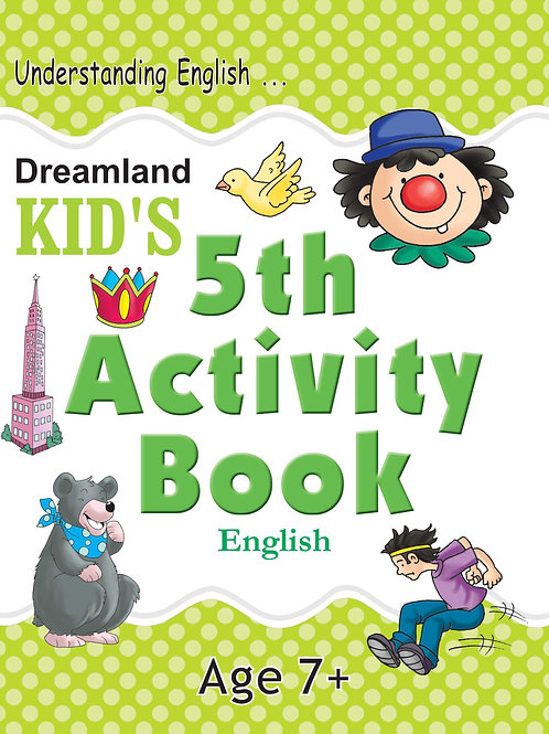 Kid's 5th Activity Book - English