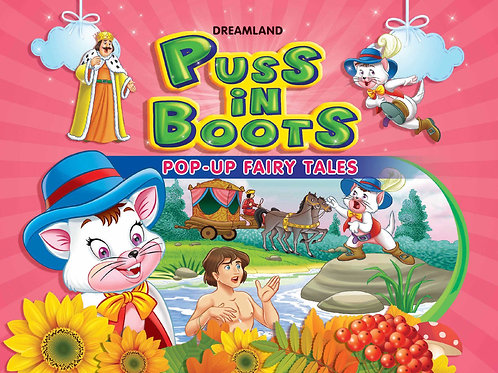 Pop-Up Fairy Tales - Puss In Boots