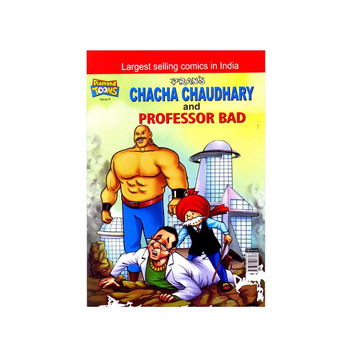 CHACHA CHAUDHARY AND PROFESSOR BAD