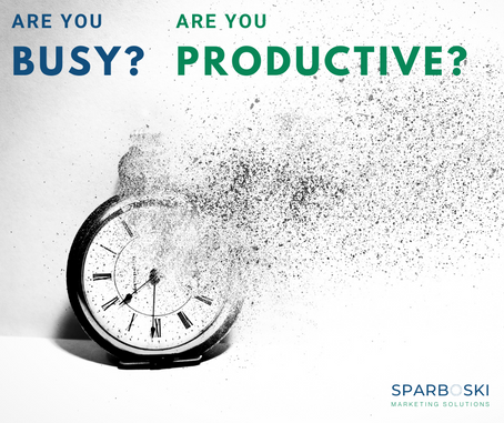 Are You Busy? Are You Productive?