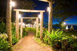Garden Path by the beach