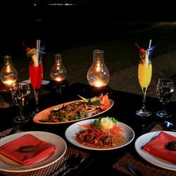 Set menu at CoCo Restaurant