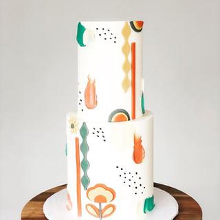 70's Funk Birthday Cake