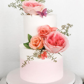 Fairy Tale Themed Birthday Cake