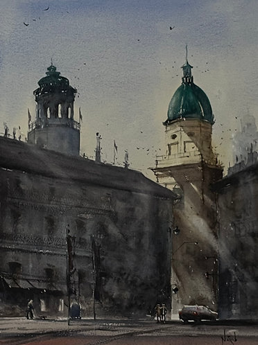 Sun Rising in Salzburg