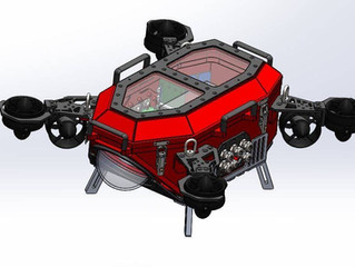 RoboSub 2020 Vehicle