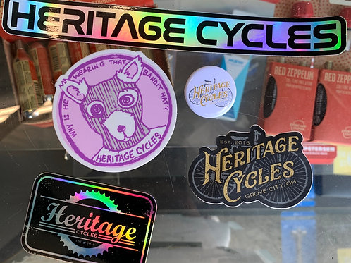 HERITAGE CYCLES STICKERS
