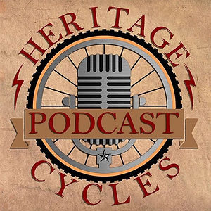 New IG page for the podcast! We'll be posting our #heritagecyclesshowcase bikes from here, sharing p