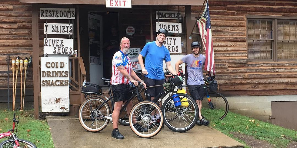 Trapper John's Bike Packing Trip