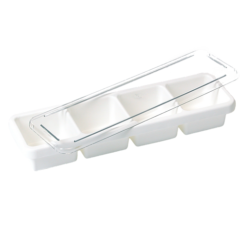 Bar Caddy and Cover | white