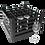 Dishwasher Rack | 25 comp | 4 extender | black