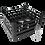 Dishwasher Rack | 25 comp | 3 extender | black