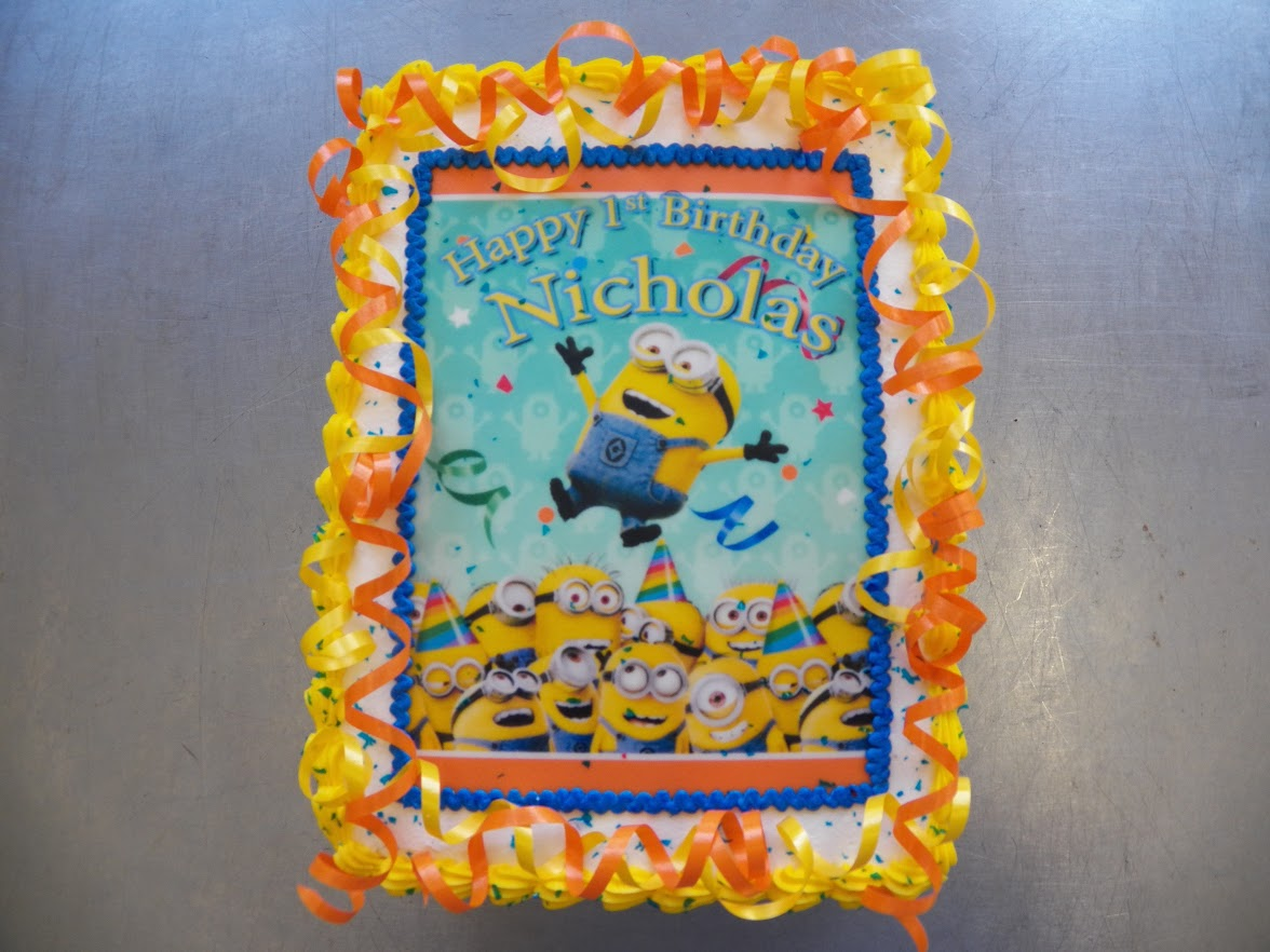 Nicholas 1st Birthday