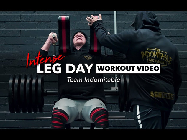 Team Indomitable - Leg Day (Training Video)