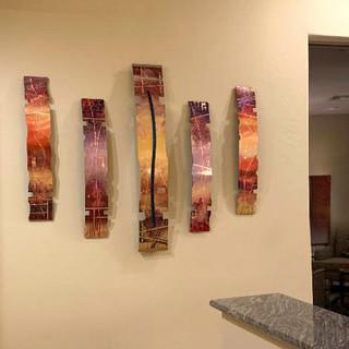 Lake Tahoe installation - Copper