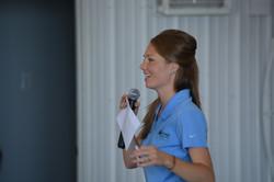 Emily Hirsch Cooper at landowner day
