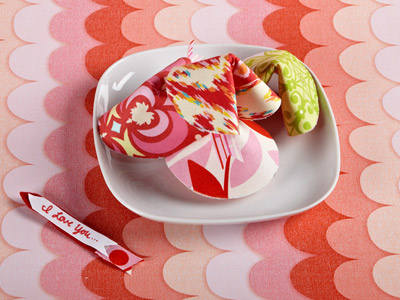 Fabric Fortune Cookies