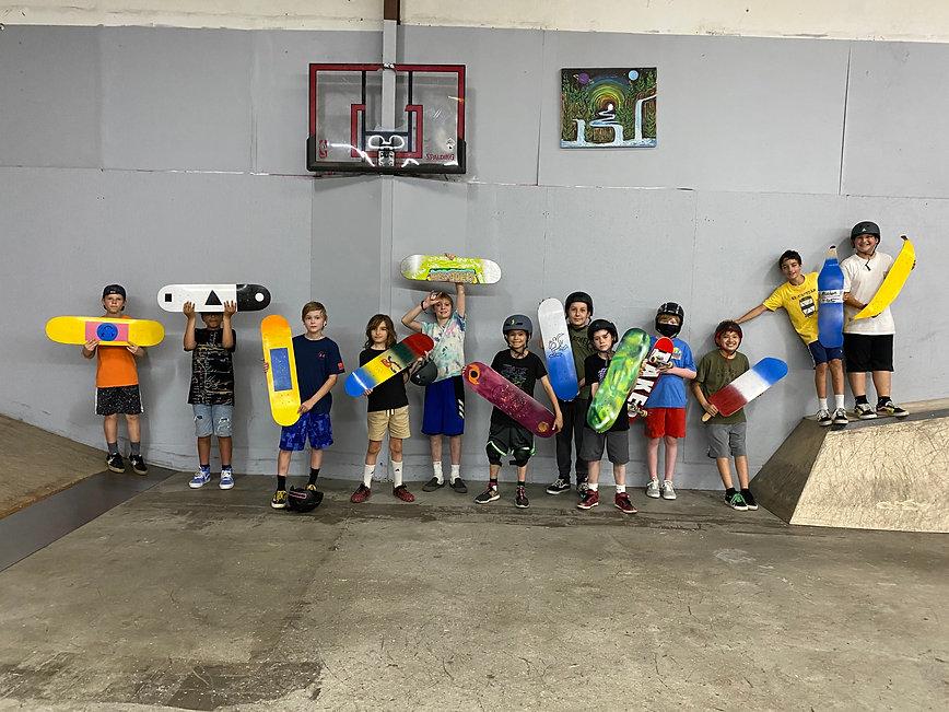 2nd Nature Skateboarding Summer Camp For Kids