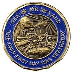 Sea Air Land Emblem