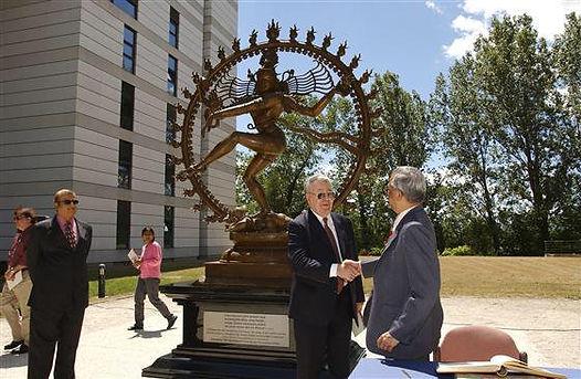 CERN Shiva Statue