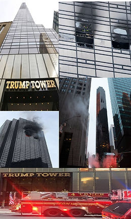 Trump Tower on Fire