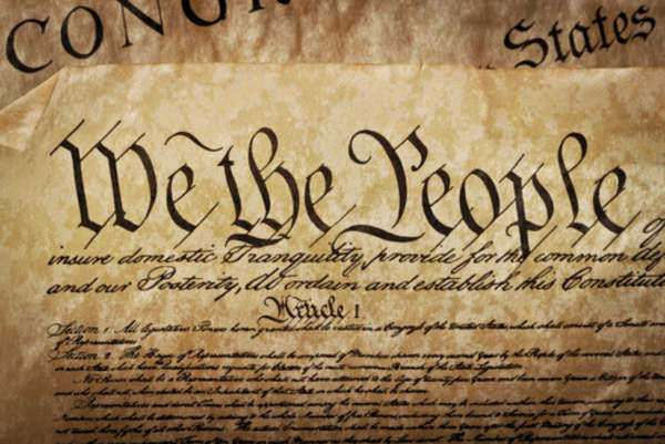 The Constitution is dying