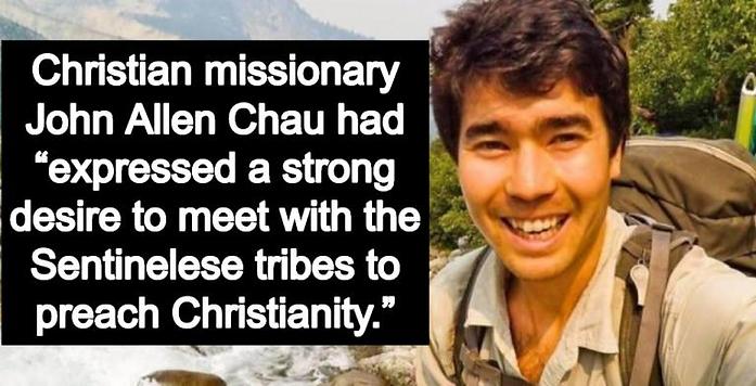 Missionary John Allen Chau