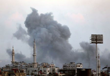 Air Strike in Damascus II