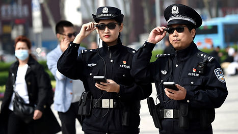 Police in China use Facial Recognition Glasses