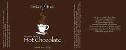 Hot Chocolate Label